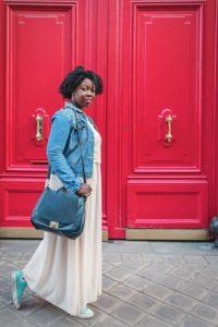 LITTLE RED DOOR FROM PARIS
