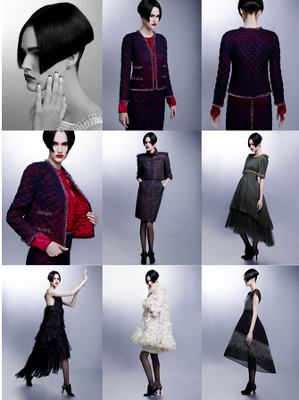 Collection Haute Couture Automne-Hiver 2015-2016 Chanel et son Casino royal