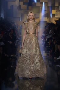 Collection Haute Couture Automne-Hiver 2015 Elie SAAB «Shades of Gold»