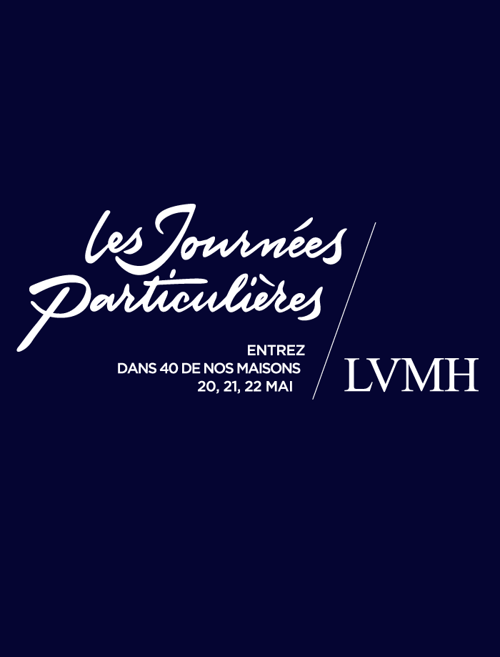 LVMH organise la troisième édition de ses Journées Particulières