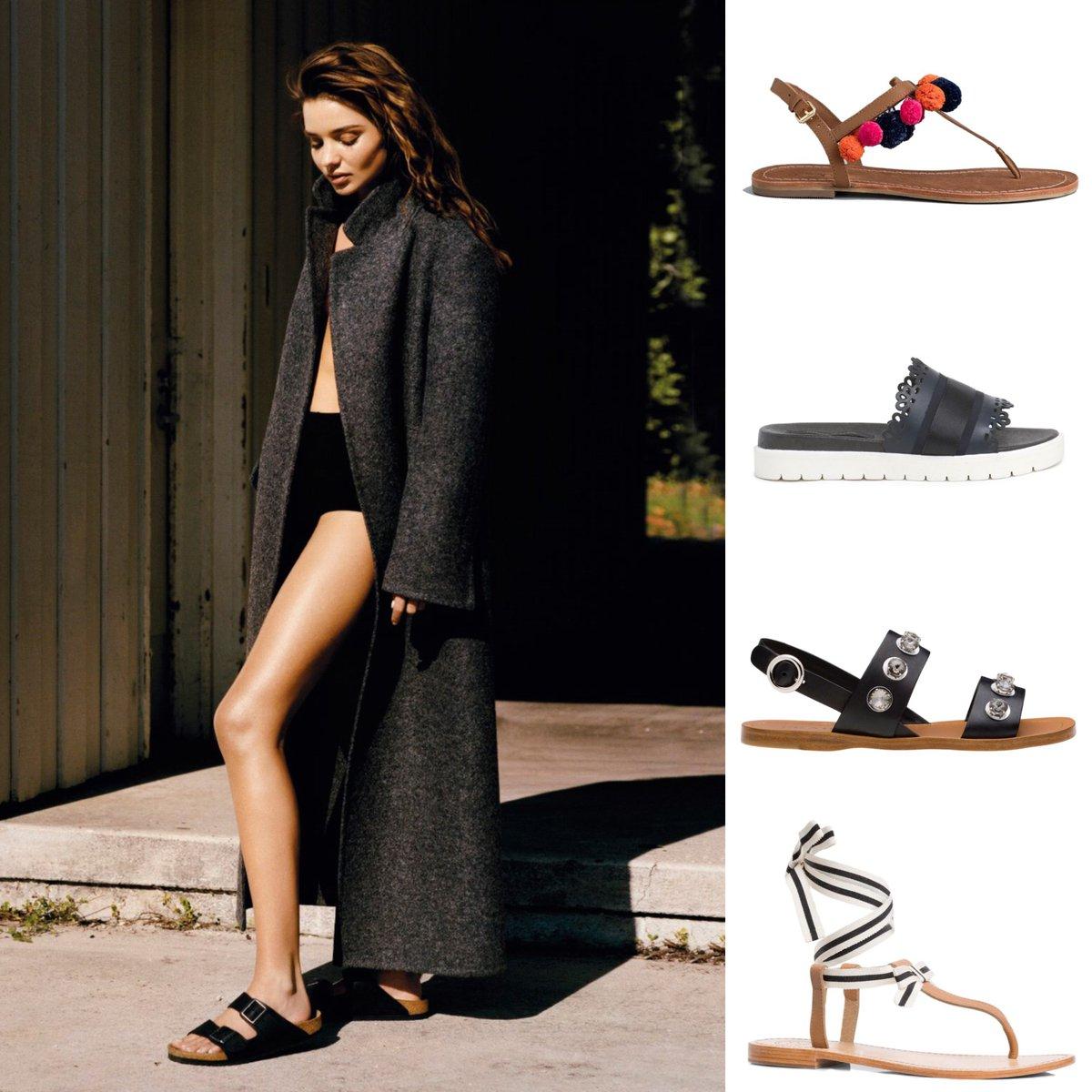 On dit oui aux sandales plates stylées et confortables pour cet été
