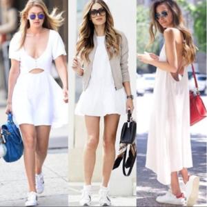 Comment porter la robe blanche cet été ?