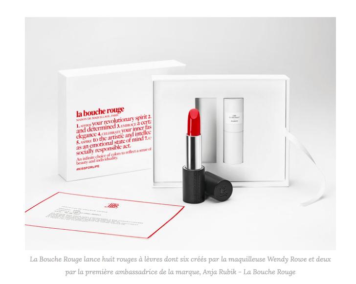 La Bouche Rouge : naissance d'une maison de cosmétique française