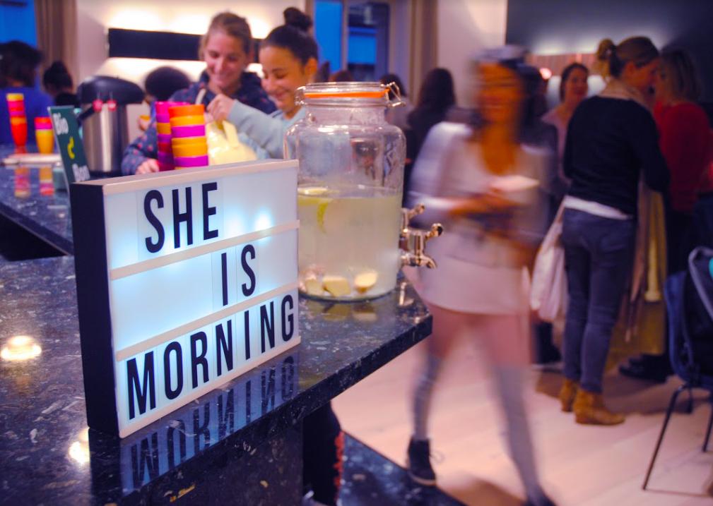 CONNAISSEZ-VOUS LE CONCEPT MORNING INSPIRANT DE SHE IS MORNING ?