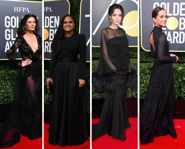 Les plus belles tenues des Golden Globes 2018
