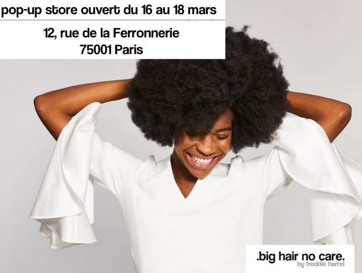 Big Hair, No Care ouvre son pop-up store rue de la Ferronnerie