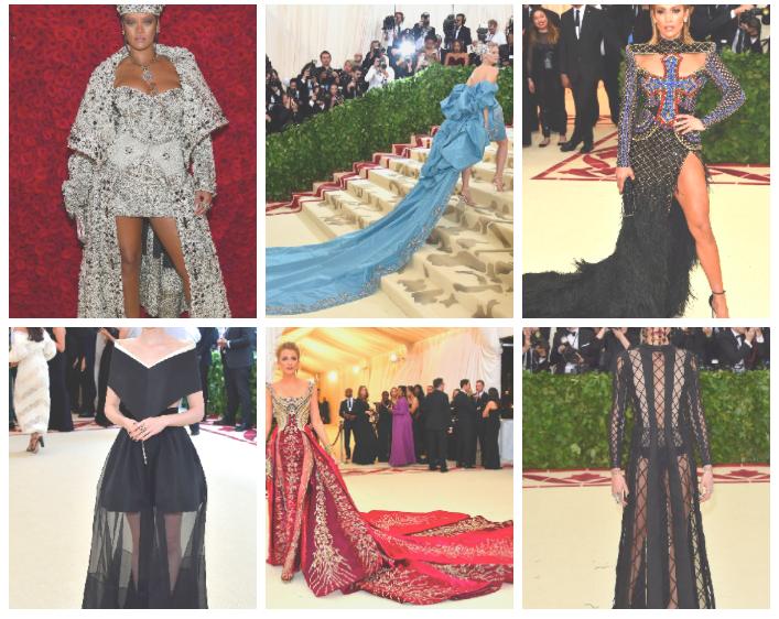 Les tenues audacieuses du Met Gala 2018