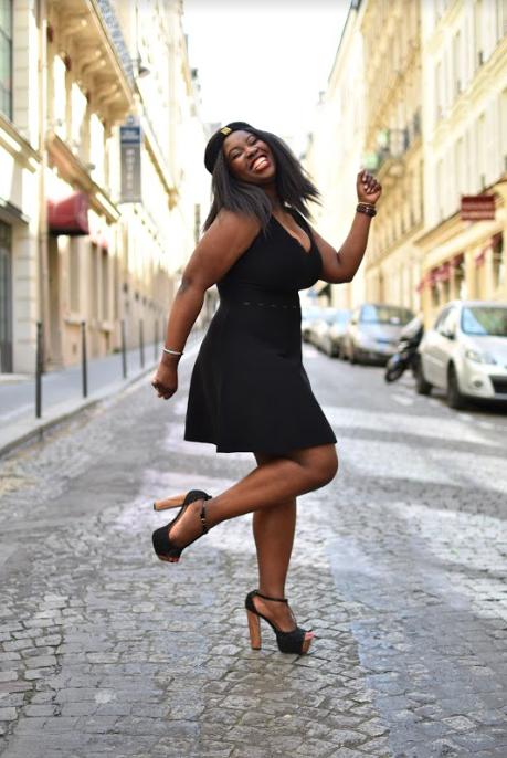 Robe noire patineuse signée Morgan – Nadinez-vous